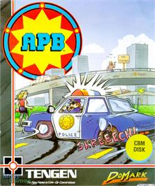 Box cover for APB on the Microsoft DOS.