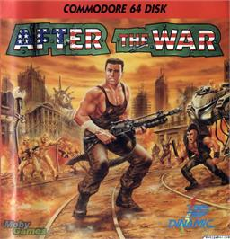 Box cover for After the War on the Microsoft DOS.