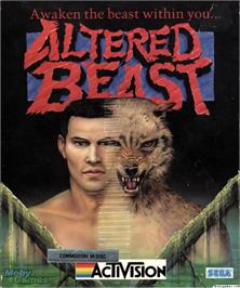 Box cover for Altered Beast on the Microsoft DOS.