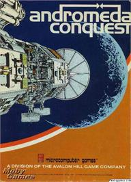 Box cover for Andromeda Conquest on the Microsoft DOS.