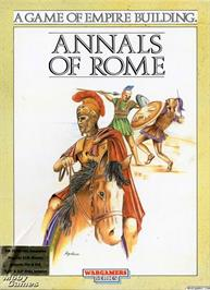 Box cover for Annals of Rome on the Microsoft DOS.