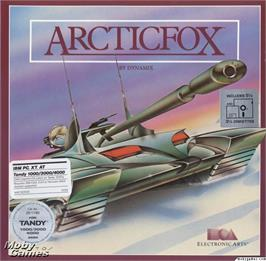 Box cover for Arcticfox on the Microsoft DOS.