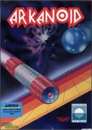 Box cover for Arkanoid on the Microsoft DOS.