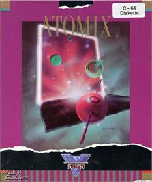 Box cover for Atomix on the Microsoft DOS.