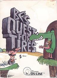 Box cover for BC's Quest for Tires on the Microsoft DOS.