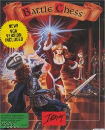 Box cover for Battle Chess on the Microsoft DOS.