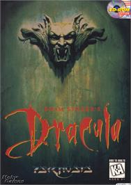 Box cover for Bram Stoker's Dracula on the Microsoft DOS.