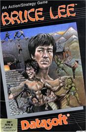 Box cover for Bruce Lee on the Microsoft DOS.