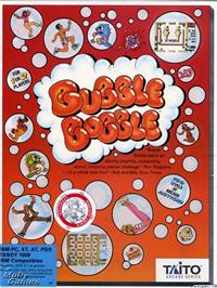 Box cover for Bubble Bobble on the Microsoft DOS.
