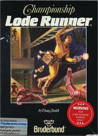 Box cover for Championship Lode Runner on the Microsoft DOS.