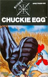 Box cover for Chuckie Egg on the Microsoft DOS.