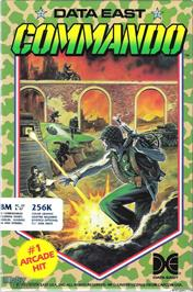 Box cover for Commando on the Microsoft DOS.
