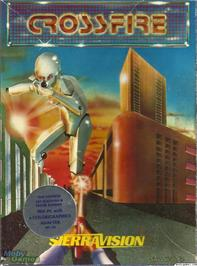 Box cover for Crossfire on the Microsoft DOS.