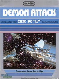 Box cover for Demon Attack on the Microsoft DOS.