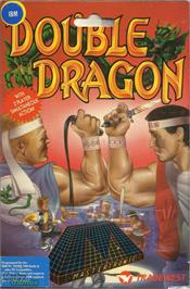 Box cover for Double Dragon on the Microsoft DOS.