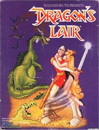 Box cover for Dragon's Lair on the Microsoft DOS.