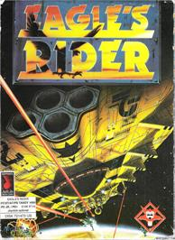 Box cover for Eagle's Rider on the Microsoft DOS.