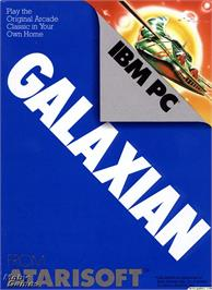 Box cover for Galaxian on the Microsoft DOS.