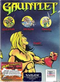 Box cover for Gauntlet on the Microsoft DOS.