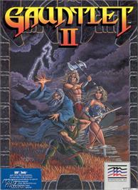 Box cover for Gauntlet II on the Microsoft DOS.