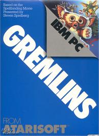 Box cover for Gremlins on the Microsoft DOS.