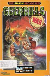 Box cover for Guerrilla War on the Microsoft DOS.