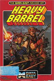 Box cover for Heavy Barrel on the Microsoft DOS.