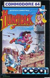 Box cover for Hunchback on the Microsoft DOS.