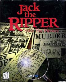 Box cover for Jack the Ripper on the Microsoft DOS.