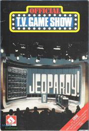 Box cover for Jeopardy! on the Microsoft DOS.