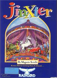 Box cover for Jinxter on the Microsoft DOS.