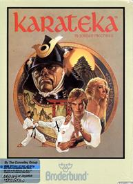 Box cover for Karateka on the Microsoft DOS.