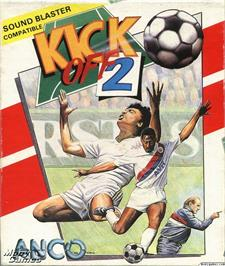 Box cover for Kick Off 2 on the Microsoft DOS.
