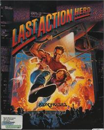 Box cover for Last Action Hero on the Microsoft DOS.