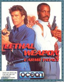 Box cover for Lethal Weapon on the Microsoft DOS.