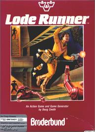 Box cover for Lode Runner on the Microsoft DOS.