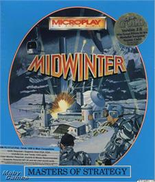 Box cover for Midwinter on the Microsoft DOS.