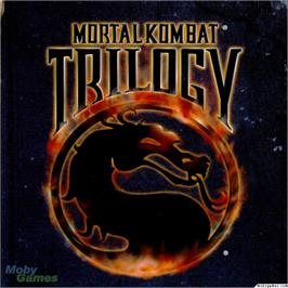 Box cover for Mortal Kombat Trilogy on the Microsoft DOS.
