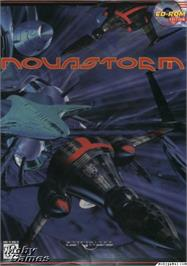 Box cover for Novastorm on the Microsoft DOS.