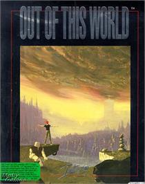 Box cover for Out of This World on the Microsoft DOS.