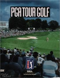 Box cover for PGA Tour Golf on the Microsoft DOS.