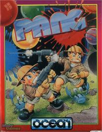 Box cover for Pang on the Microsoft DOS.