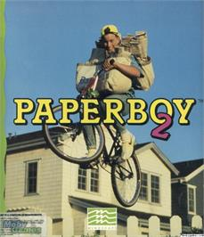 Box cover for Paperboy 2 on the Microsoft DOS.