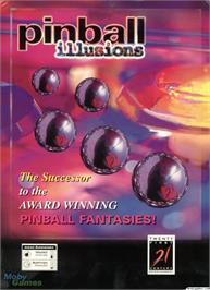 Box cover for Pinball Illusions on the Microsoft DOS.