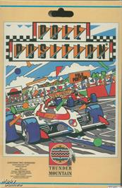 Box cover for Pole Position on the Microsoft DOS.