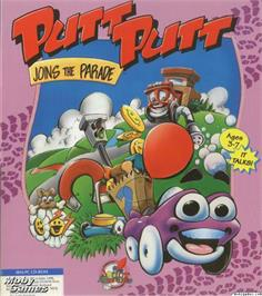 Box cover for Putt-Putt Joins the Parade on the Microsoft DOS.