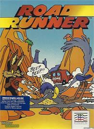 Box cover for Road Runner on the Microsoft DOS.