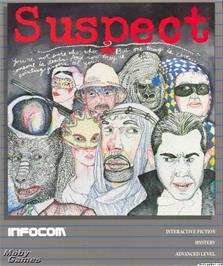 Box cover for Suspect on the Microsoft DOS.