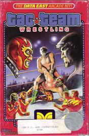 Box cover for Tag Team Wrestling on the Microsoft DOS.