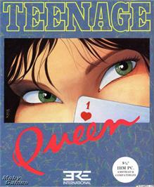 Box cover for Teenage Queen on the Microsoft DOS.